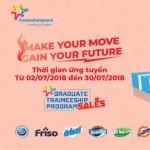 Chương Trình Tuyển Dụng Graduate Traineeship Program Sales 2018