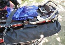 Cách buộc đồ khi phượt bằng xe máy