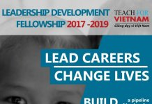 Chương trình Leadership Development Fellow 2017 – 2019